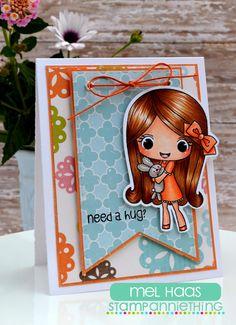 Stamp Anniething's April Stamp Release :: Melanie