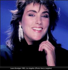 Laura Branigan 1985 in Los Angeles. Maybe one of the best photos ever taken of Laura's beautiful face. Photo by Harry Langdon