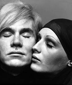 andy warhol & candy darling by richard avedon
