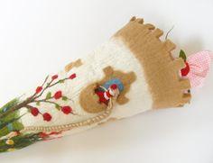 Schultüten - Schultüte mit Rapunzel - ein Designerstück von miniaturi bei DaWanda
