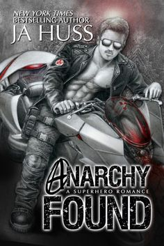 COVER REVEAL VIDEO & SIGNED + $50 GIVEAWAY: Anarchy Found (Super Alpha Series, #1) by J.A. Huss - iScream Books