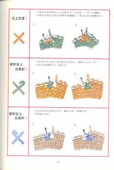 JAPANESE KNITTING SYMBOLS & MEANINGS (Part 2)   TRICOT JAPO TECNICA-N3 - NALAN - Picasa Webalbum