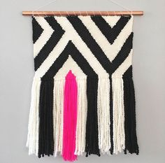Ready-To-Ship Handmade Shaggy Woven Wall Hanging Tapestry Weaving Wall Art Home Decor by hookandweaveco on Etsy Weaving Textiles, Weaving Art, Loom Weaving, Tapestry Weaving, Hand Weaving, Weaving Wall Hanging, Tapestry Wall Hanging, Wall Hangings, Deco Boheme