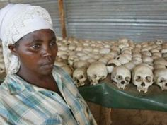http://www.iol.co.za/saturday-star/a-country-trying-to-move-on-1.1117965#.UKJaUuT7J2A  The Rwandan Genocide was a genocidal mass slaughter of the Tutsis by the Hutus that took place in 1994 in the East African state of Rwanda. Over the course of approximately 100 days- over 500,000 people were killed, according to a Human Rights Watch estimate.[2] Estimates of the death toll have ranged from 500,000–1,000,000,[1] or as much as 20% of the country's total population.
