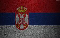 Serbian Flag, Flag Of Europe, Belgrade Serbia, Emblem, Leather Texture, Byzantine, Symbols, Wallpaper, Flags