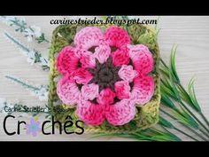 Flor de Crochê Confecção Rapida - Wilma Crochê - YouTube