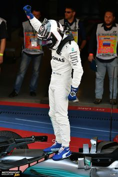 First the pole in Bahrain and now the win in Sochi! Valtteri Bottas shows that he is not just a number two driver! F1 2017 | RussianGP | Dotd