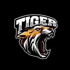 Tiger Art, Tiger Head, T Shirt Logo Design, Shark Logo, Esports Logo, Fashion Logo Design, Photography Logo Design, Typographic Logo, Hip Hop Art
