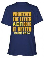 Alpha Epsilon Pi Greeks Do It Better Regular Cotton T-shirt