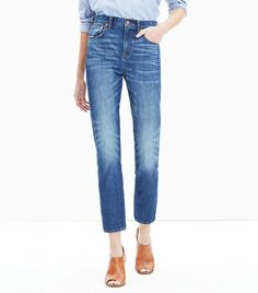 Madewell Cruiser Straight Crop Jeans