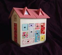 Calendrier de l'avent: maison peinte - Le jardin de Mei