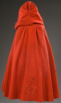"Cloak, dated 1785 - 1795, Massachusetts. Dimensions: length 41"", width 123"". Via Shays Rebellion website,  courtesy Pocumtuck Valley Memorial Association, Deerfield, MA."
