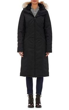 CANADA GOOSE Elrose Fur-Trimmed Down Parka. #canadagoose #cloth #parka
