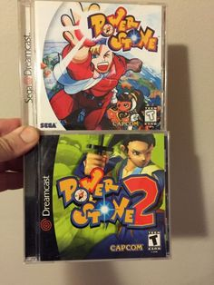 US Power Stone Set  #retrogaming #HotDC  both games complete in case with manual. In very good condition. Auction ends in about 8 hours.