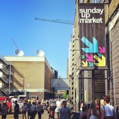 Sunday UpMarket in Shoreditch, Greater London