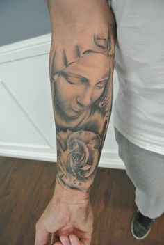 Image result for tatuajes de la virgen
