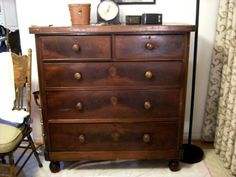 Mouse over image to zoom  Sell one like this  LARGE MAHOGANY VICTORIAN CHEST OF DRAWERS CIRCA 1890