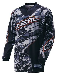 Oneal Element Digi Camouflage Mens Off Road Dirt Bike Motocross Jerseys