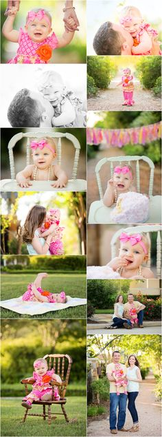 Outdoor Cake Smash Session, Park Family Session, Family Posing Ideas, First Year Portraits. Holly Davis photography | The Woodlands, Texas