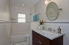 El Cerrito Art Deco - traditional - Bathroom - Other Metro - Stewart Thomas LLC