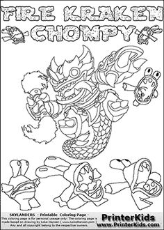 print free colouring sheets skylanders giants characters browse and print coloring pages tagged as skylanders giants this section may not contain