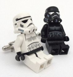 LEGO cufflinks! This might be the only way to make my boys dress up!