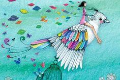 Oggi esco per scoprire tutto il bello che la vita ha in serbo per me Marquis, Bird Artists, Doodle Coloring, Adult Coloring, Interesting Topics, Love You Mom, Various Artists, Positive Attitude, Doodle Art