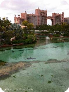 Atlantis - Bahamas. ever since the Mary Kate and Ashley movie I have wanted to go here!!