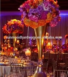 accept paypal/visa/credit card,)Fashion Wedding Flowers Arrangementa Artificial Flower centerpieces