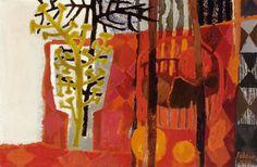 Mary Fedden | Red Still Life