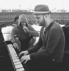 Will and Chris, Coldplay