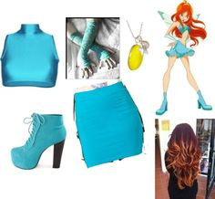 """Winx Club Bloom Charmix"" by foleydog ❤ liked on Polyvore"