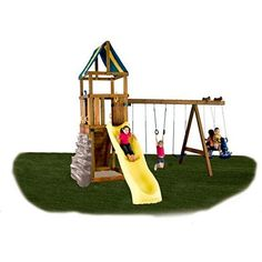 Outdoor Swing Set Parts Kit Own Build Play Ground Backyard Kids Fun Playsets New #OutdoorSwingSetPartsKit