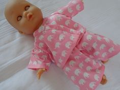 Dolls Clothes  Pyjamas to fit 30cm (12inch) baby dolls ELC Cupcake  £4.50