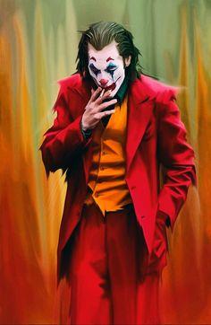 Joker Film, Joker Dc, Joker And Harley Quinn, Joker Hd Wallpaper, Joker Wallpapers, Dc Comics, Joker Painting, Joker Drawings, Joker Makeup
