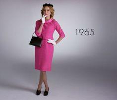 100 años de moda en solo 2 minutos