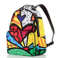f86a0081b204 Hot Style Trend Graffiti Cartoon Artsy Print Large-Capacity Quality  Backpack 5 Designs