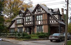 """""""possibly the largest concentration of early mansions in Canada"""" [REMASTERED] - SkyscraperPage Forum English Tudor Homes, English House, English Architecture, Revival Architecture, Style At Home, Tudor House Exterior, House Exteriors, Estilo Tudor, Sims House Design"""