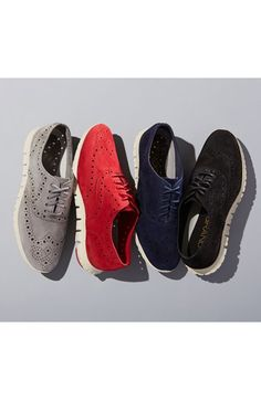 Just picked these up tonight! A great investment, like walking on air! Cole Haan 'ZerøGrand' Perforated Oxford (Women) (Nordstrom Exclusive)   Nordstrom