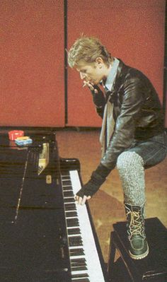 piano AND smoking.  be still my heart.  lol