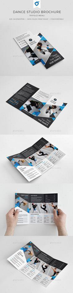 Dance Studio Trifold Brochure