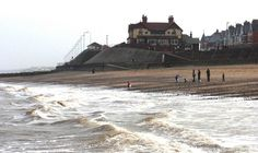 Hornsea Yorkshire England | Hornsea Promenade, Hornsea, East Riding of Yorkshire, England. The ...