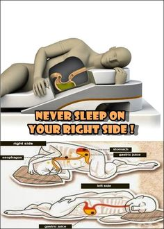 THIS IS WHY YOU SHOULD BE SLEEPING ON YOUR LEFT SIDE ! Everyone knows that sleep is very important for maintaining a good physical and mental health. Your sleep position can influence your health, help in keeping your skin look young, and improve your digestive health.Sleeping on the left side of your body can even …
