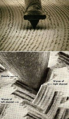 I came across that microscopic photo of a stylus and vinyl record grooves with a magnification. Hard to believe that such alien looking landscape is the source of beautiful music! Cool Stuff, Guy Stuff, Platine Technics, Record Players, Music Stuff, Music Is Life, Music Bands, Vinyl Records, Vinyl Music