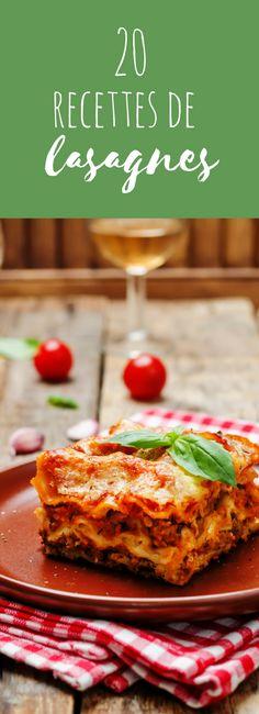 Aux épinards, aux poireaux, au potiron : 20 recettes de lasagnes faciles !