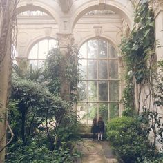 The Orangery at Castle Ashby Gardens, Northampton, England, UK Salate Im Winter, Slytherin Aesthetic, Nature Aesthetic, Beautiful Architecture, Abandoned Places, Pretty Pictures, Aesthetic Pictures, Beautiful Places, Scenery