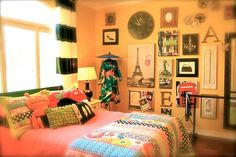 International girl's room.  LOVE this if I ever have a little girl..