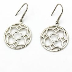 29cb7c153 TIFFANY & CO. Paloma Picasso Zellige Medallion Hook Earrings in Sterling  Silver #TiffanyCo