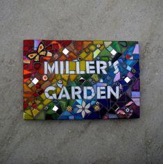 Mosaic Garden Sign £100.00                                                                                                                                                      More