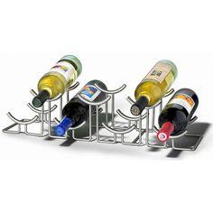 Spectrum Diversified Spectrum Diversified Euro Hilo 7-Bottle Wine Rack - 467X